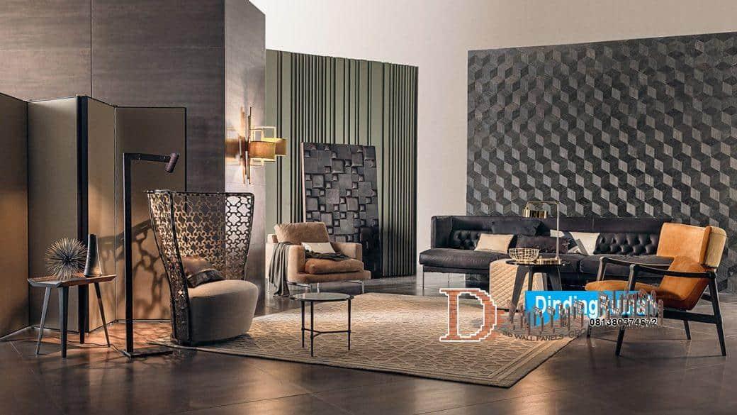 3d wall ruang keluarga