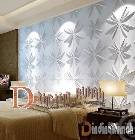 Desain Kamar Tidur Sederhana Jadi Mewah Dengan Panel Dinding 3d