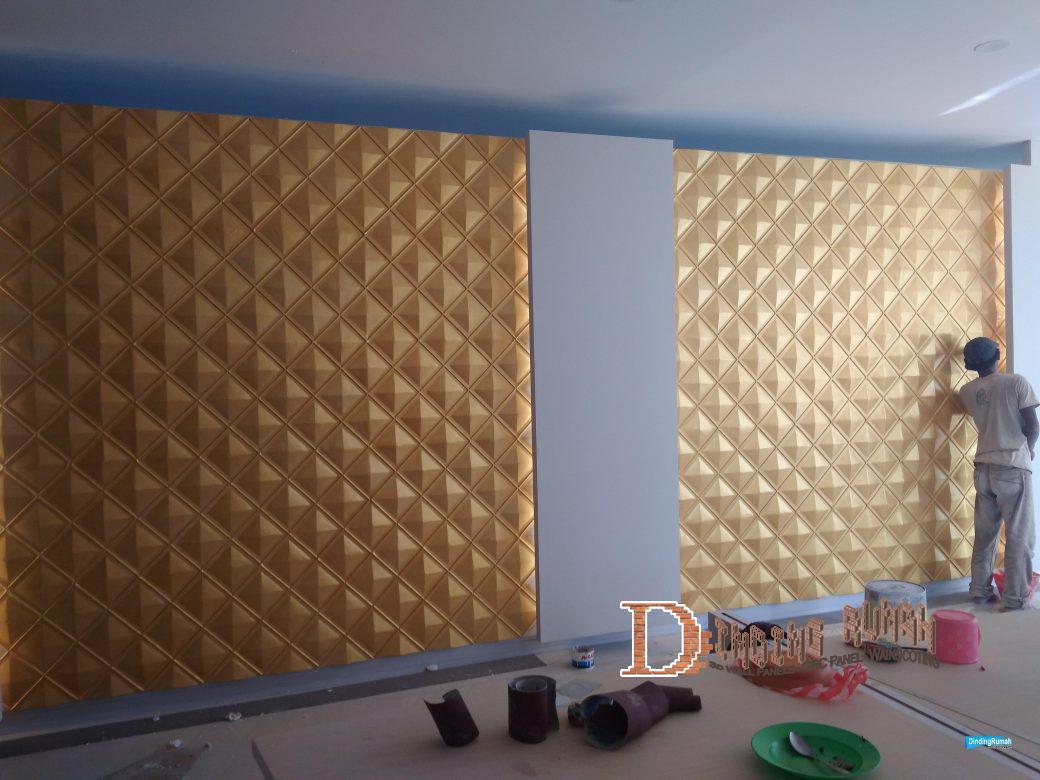 3d wall panel Rhombus