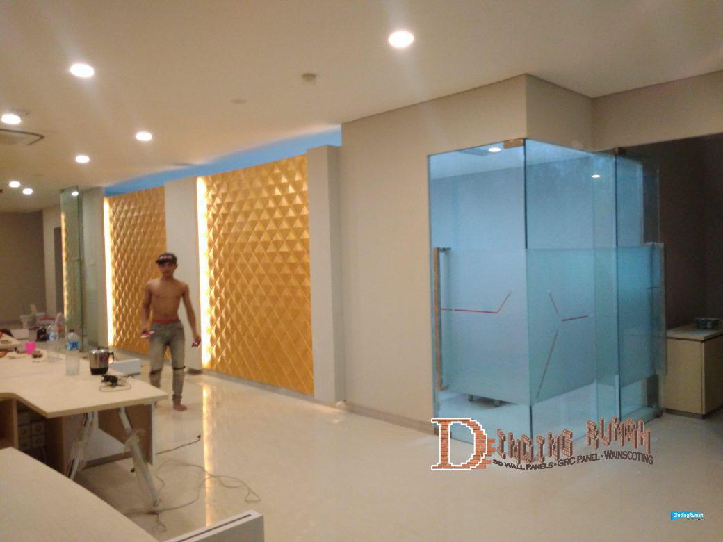 3d wall panel Rhombus 2