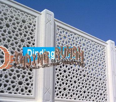 Pagar Masjid Pakai Grc Krawangan Tampil Lebih Menawan Dindingrumah