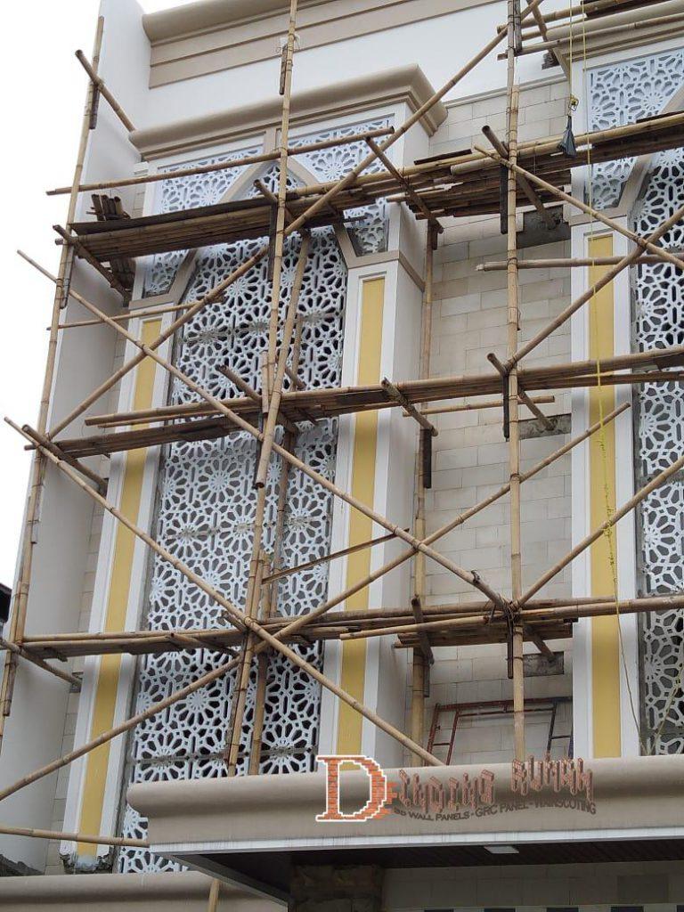motif ornamen masjid
