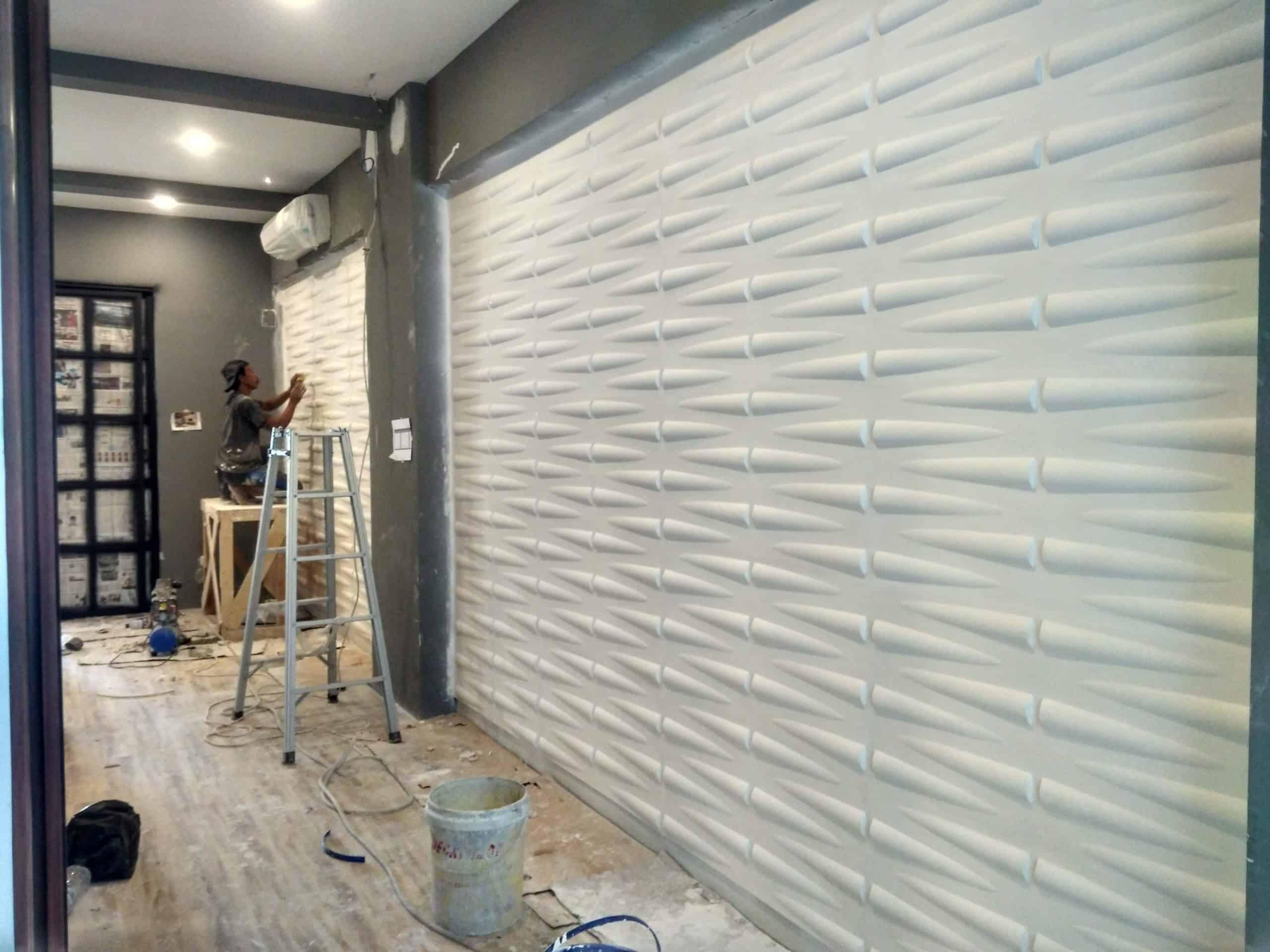 3d wall panel gipsum