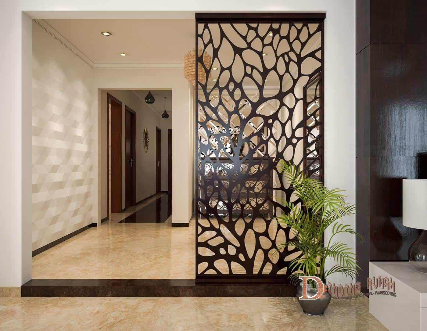 4 Motif Pembatas Ruangan Super Keren Dengan GRC   DindingRumah