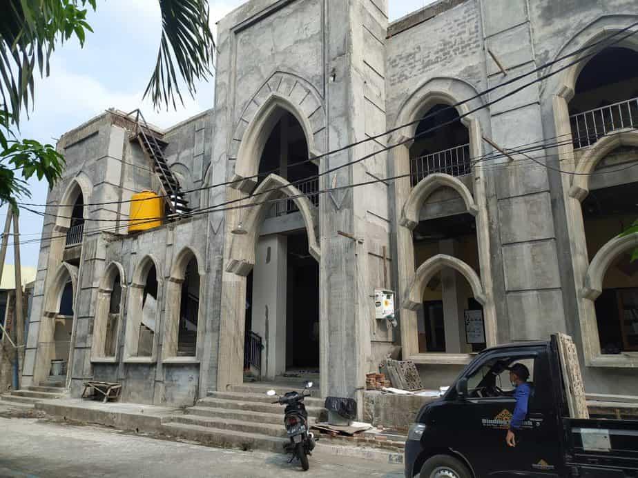 grc krawangan masjid sidoarjo
